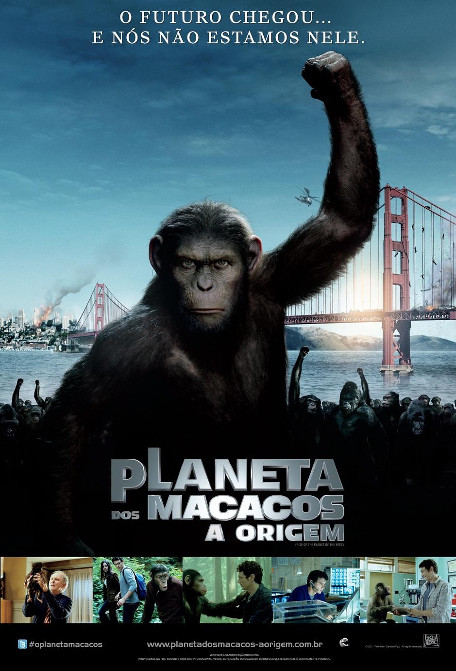 Poster do filme Planeta dos Macacos