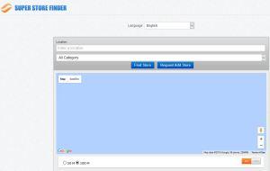 Store Locator PHP MYSQL JAVASCRIPT Source Code
