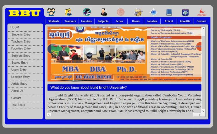 College School Management System PHP MySQL Source Code