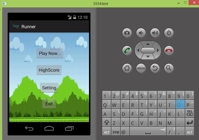 Basic Game Jump Run Android Source Code