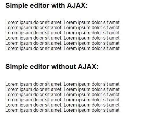 Text Editor Ajax Source Code