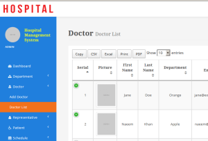 Hospital Management System PHP MYSQL