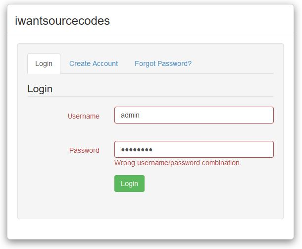 Advanced Security Register Login and User Management Program PHP MySQL