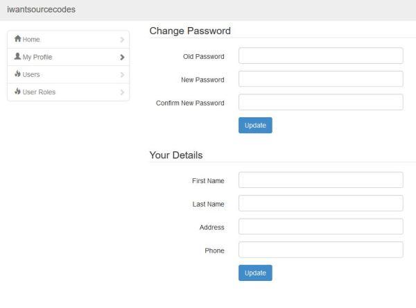 Advanced Security Register Login and User Management Program PHP MySQL