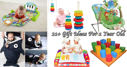 21+ Best Gift Ideas For 1 Year Old Boy