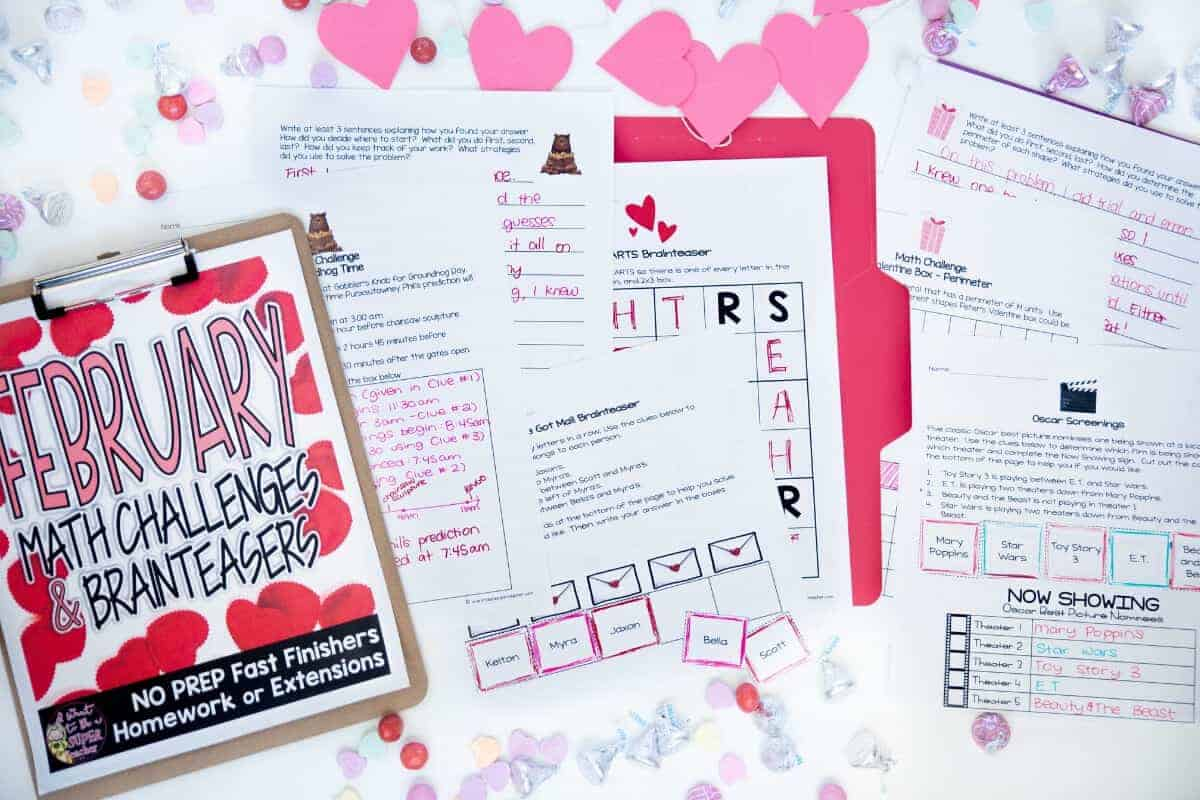 Save Your Sanity With 4 Free February Printables