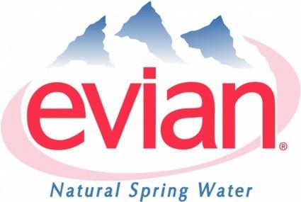 Evian, true water, my friend?