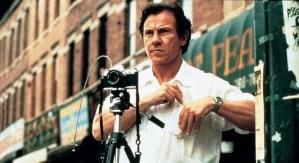 Auggie taking his photos in the movie Smoke 1995 Harvey Keitel