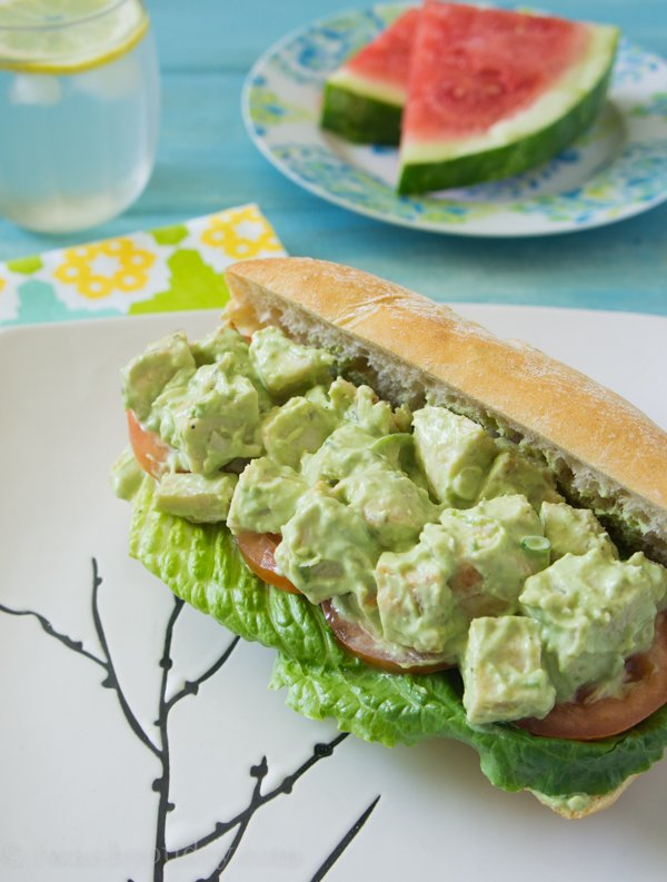 Avocado and Greek Yogurt Chicken Salad