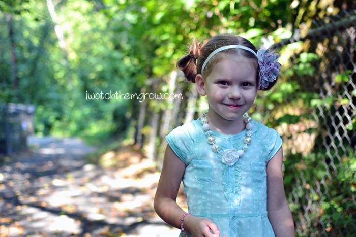 5 Year Old Birthday Photo Shoot ~ iwatchthemgrow.com