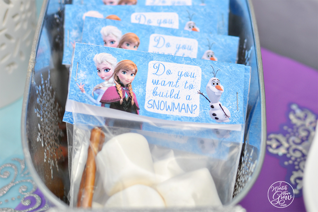 Free Printable Frozen Build A Snowman Kit Labels I Watch Them Grow