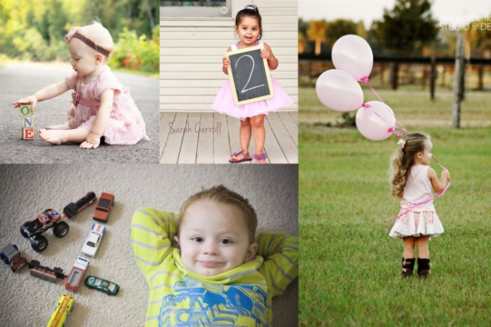 15 super easy birthday photo ideas
