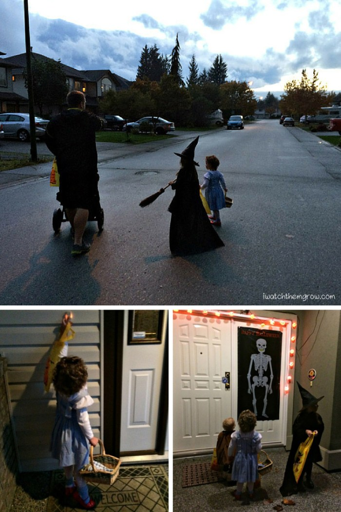 Halloween photo ideas - trick or treating