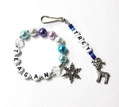 Frozen-bracelet-zipper-pull