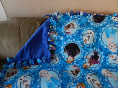 Frozen-fleece-blanket