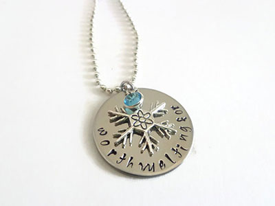 Frozen-quote-snowflake-necklace