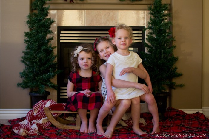 How to get nice Christmas photos of your kids by following these 2 simple but crucial tips!