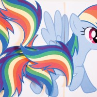 Pin the Tail on Rainbow Dash (Free Printable)