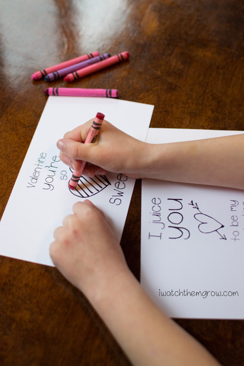 Valentines Juice Box Wrappers Free Printable I Watch