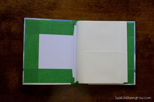 DIY kid's journal album tutorial