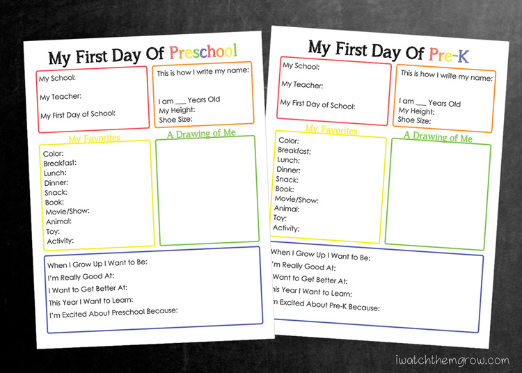 photograph relating to First Day of School Interview Printable referred to as Printable Back again in the direction of College Job interview - I Check out Them Develop