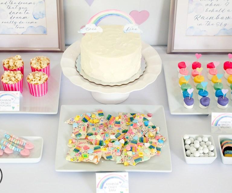 3 EASY no-bake rainbow party treats recipes you have to try!