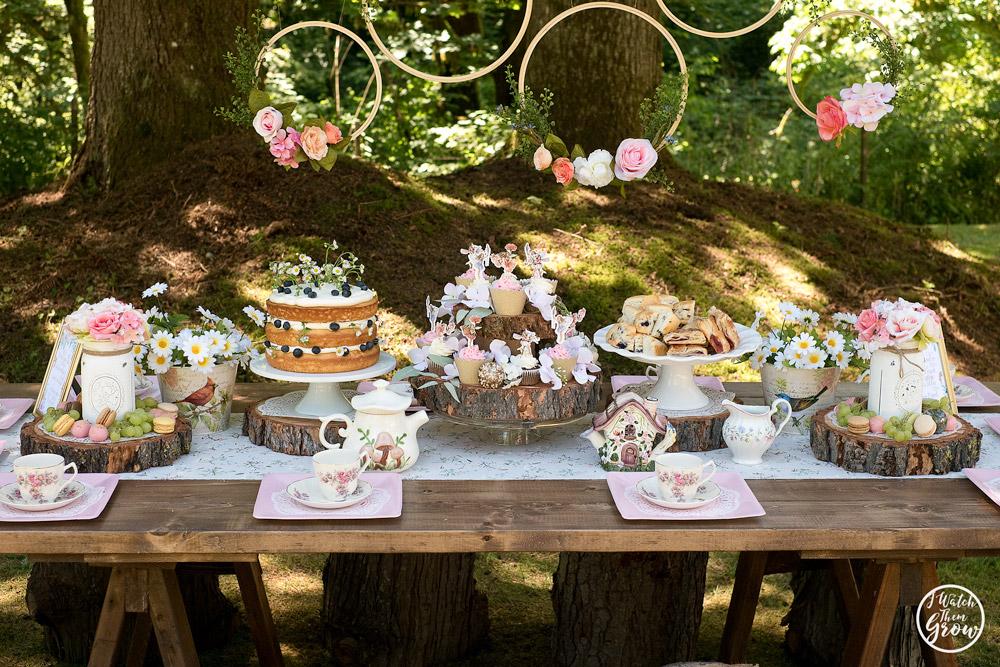 Awe Inspiring Fairy Tea Party Ideas I Watch Them Grow Download Free Architecture Designs Xerocsunscenecom