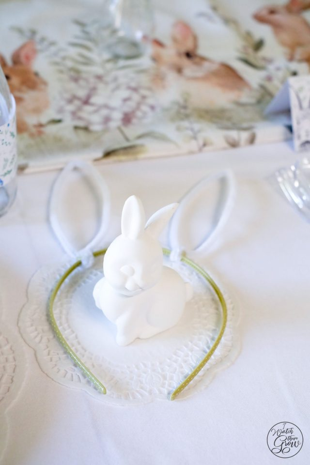 You'll love all the bunny party ideas in this adorable French Country Bunny party! Decorations, food, activities and favors, there's so many great ideas!