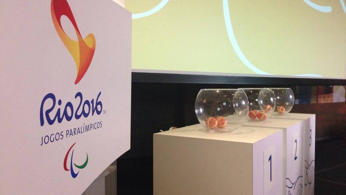 Wheelchair Basketball Groups for the Rio 2016 Paralympic Games decided