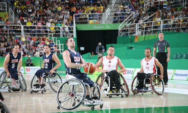 USA Men reach first Paralympic Games final since 1988