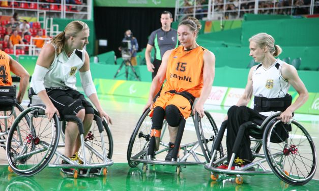 Germany defensive effort sends them through to the Paralympic Final