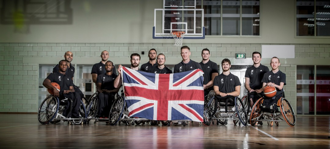 Great Britain Men's Team for Rio2016