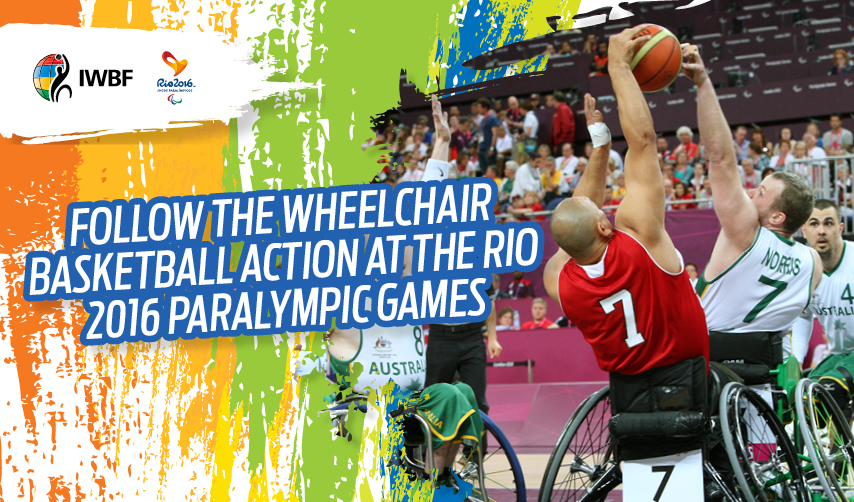 Follow the wheelchair basketball at the Rio 2016 Paralympic Games