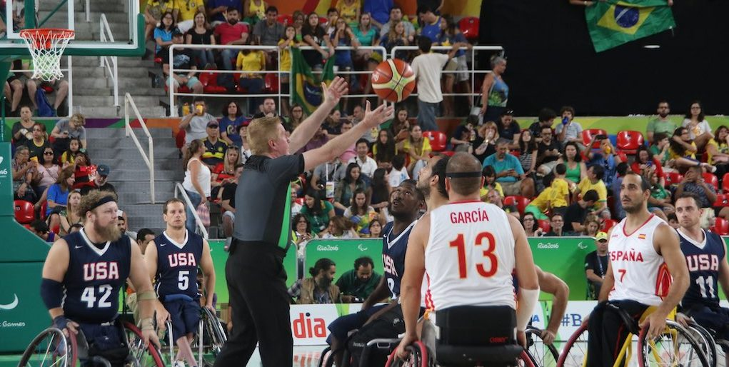 Release of 2017 Official Wheelchair Basketball Rules