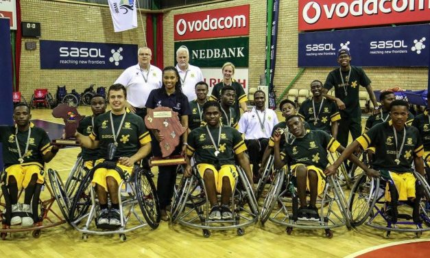 Sasol continues to back wheelchair basketball in South Africa