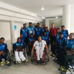 IWBF AOZ Secretary-General praises India for teams' participation in the U23 Qualifiers 2017