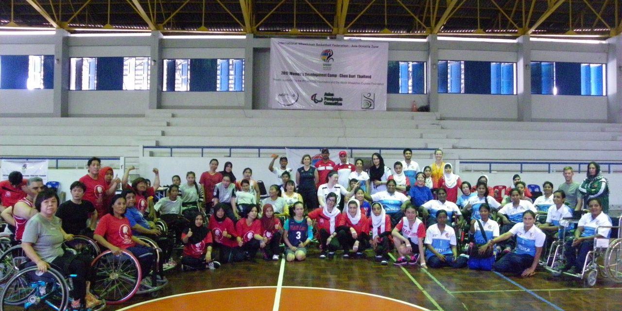 Smiles all round at Women's Development Camp in Thailand