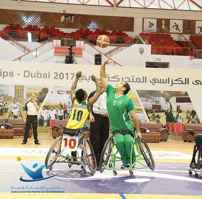 9th Fazza International Wheelchair Basketball Championships takes place in Dubai