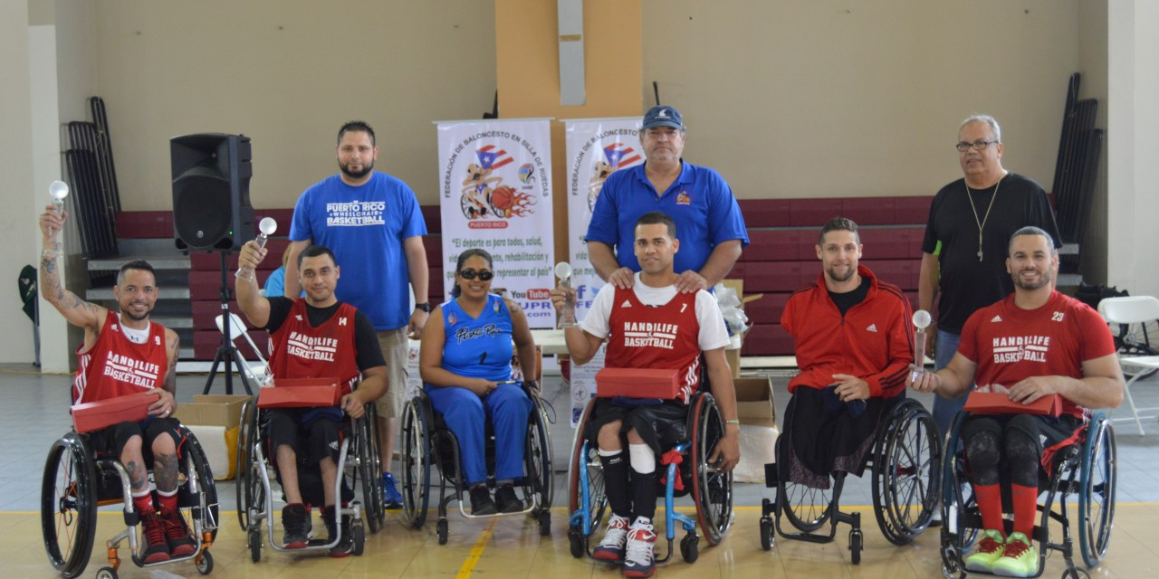 Puerto Rico celebrate wheelchair basketball week