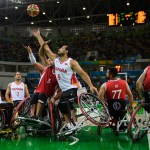 NBA may have the Gasol brothers but wheelchair basketball have the Zarzuelas