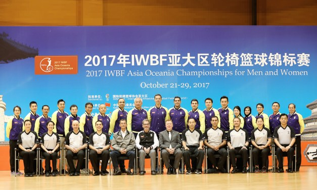 IWBF Asia Oceania Zone welcomes ten new officials