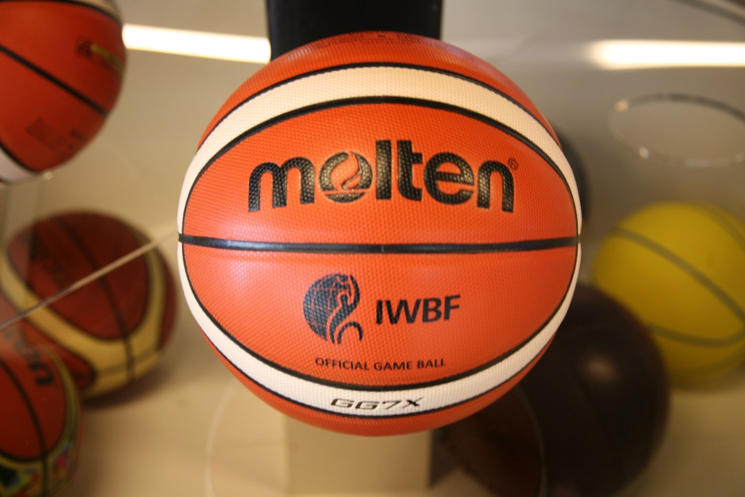 IWBF branded Molten Basketball