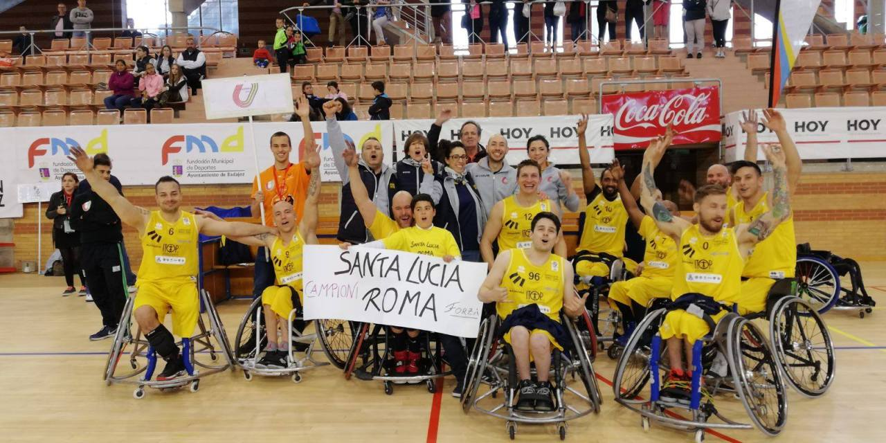 EuroLeague 3 Final won by Italy's SSD Santa Lucia