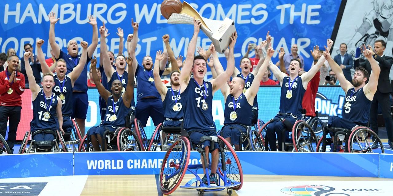 Great Britain men win first ever Wheelchair Basketball World Championships