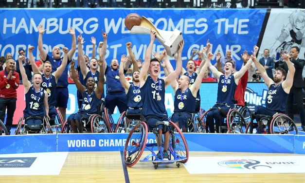 Great Britain men win first ever Wheelchair Basketball World Championships