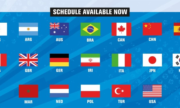 Last Minute Schedule Change for Day One of 2018 World Championships