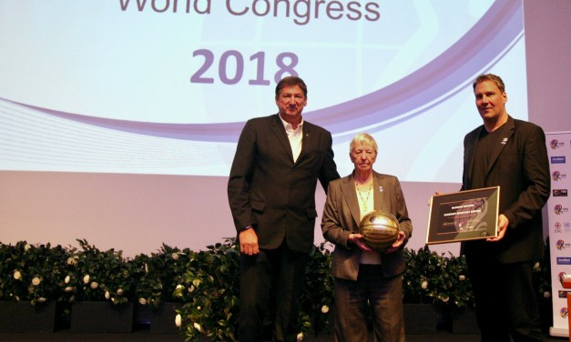 Maureen Orchard named as IWBF's first Honorary Secretary General.