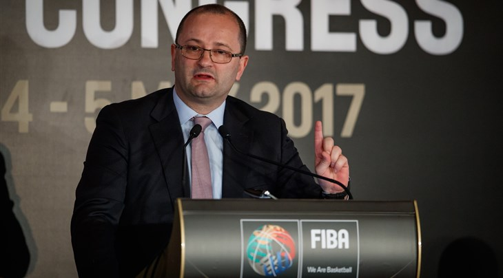 IWBF mourn passing of FIBA Secretary General Patrick Baumann