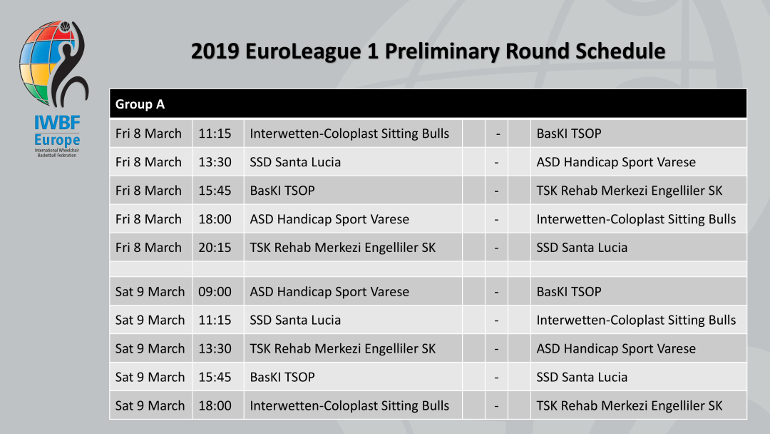 2019 EuroLeague 1 Schedule-2