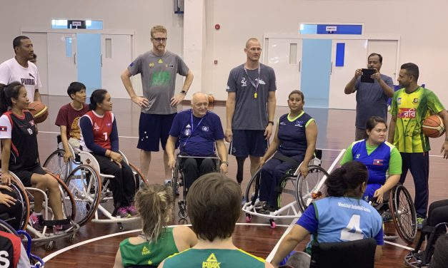 Success as IWBF Asia Oceania Zone stage second women's development camp